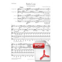 Bella Ciao for Brass Quintet (Full Score and Parts) [PDF]