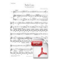 Bella Ciao for Oboe and Piano (Full Score and Parts) [PDF]