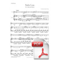 Bella Ciao for Tuba and Piano (Full Score and Parts) [PDF]