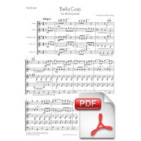 Bella Ciao for Wind Quintet (Full Score and Parts) [PDF]