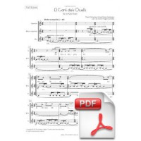 Anonymous: El Cant dels Ocells for 3-Part Choir (Full Score) [PDF]
