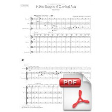Borodin: In the Steppes of Central Asia for Orchestra (Full Score) [PDF] Preview PDF (Free download)