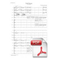 Debussy: Petit Nègre arr. for Orchestra (Full Score) [PDF]