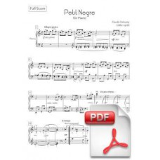 Debussy: Petit Nègre for Piano (Full Score) [PDF] Preview PDF (Free download)