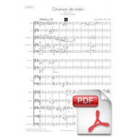 Elgar: Chanson de Matin op. 15 no. 2  for Chamber Orchestra (Full Score)