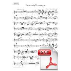 Elgar: Serenade Mauresque for Orchestra (Parts) [PDF]
