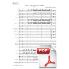 Gounod: Funeral March of a Marionette for Orchestra (Full Score) [PDF] Preview PDF (Free download)
