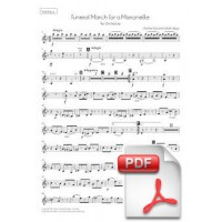 Gounod: Funeral March of a Marionette for Orchestra (Instrumental Parts)