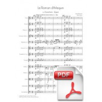 Massenet: Le Roman d'Arlequin for Orchestra (Full Score) [PDF]