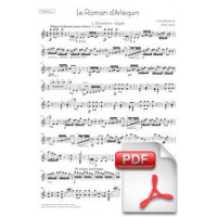 Massenet: Le Roman d'Arlequin for Orchestra (Parts) [PDF]