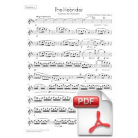 Mendelssohn: The Hebrides, Overture for Orchestra (Instrumental Parts)
