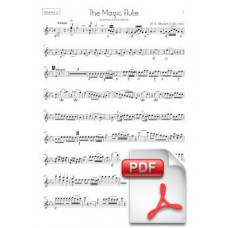 Mozart: The Magic Flute, Overture for Orchestra (Instrumental Parts)