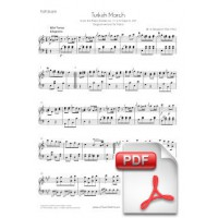 Mozart: Turkish March (Rondo alla turca) for Piano (original version) [PDF]