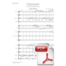 Pagès-Corella: At a Quarter of Moon for Female Choir and Chamber Orchestra (Full Score)