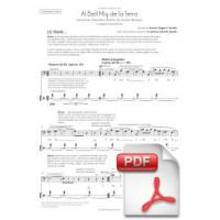 Cantània 2015 [Catalan] - Al Bell Mig De La Terra Music by Xavier Pagès-Corella and libretto by Carlota Subirós Bosch (Chorus Part) [PDF]