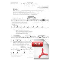 Cantània 2015 [French-Flemish] - Un Monde Entre Deux Terres Music by Xavier Pagès-Corella and libretto by Carlota Subirós Bosch (Chorus Part) [PDF]