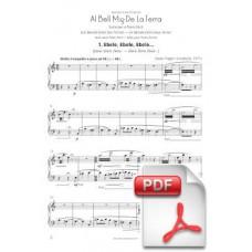 Pagès-Corella: Cantània 2014-15 - Al Bell Mig De La Terra for Easy Piano (Full Score)