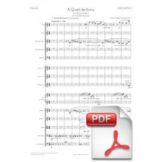 Pagès-Corella: At a Quarter of Moon for Chamber Orchestra (Full Score) [PDF] Preview PDF (Free download)