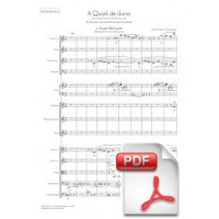 Pagès-Corella: At a Quarter of Moon for Female Choir and Chamber Orchestra (Full Score) [PDF]