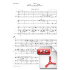 Pagès-Corella: At a Quarter of Moon for Mixed Septet (Full Score) [PDF] Preview PDF (Free download)