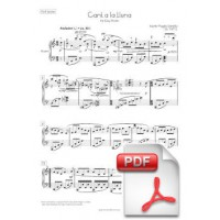 Pagès-Corella: Cant a la Lluna for Easy Piano (Full Score) [PDF]