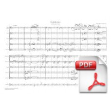 Pagès-Corella: Ceràunia, Sardana for Cobla (Full Score) [PDF] Preview PDF (Free download)