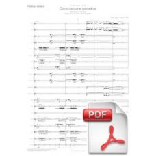 Pagès-Corella: Cinco Canciones Granadinas for Tenor and Orchestra (Full Score) [PDF] Preview PDF (Free download)