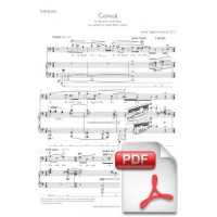 Pagès-Corella: Comiat for Baritone and Piano (Full Score) [PDF]