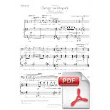 Pagès-Corella: D'ençà que ella partí for Baritone and Piano (Full Score) [PDF] Preview PDF (Free download)