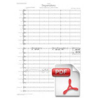 Pagès-Corella: Despertaferro Medieval Fantasy for 3 Coblas (Full Score)