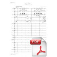 Pagès-Corella: Despertaferro, Medieval Fantasy for Orchestra (Full Score) [PDF]