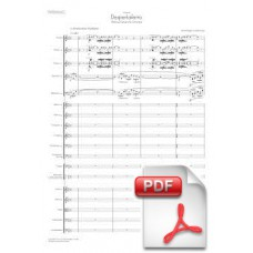 Pagès-Corella: Despertaferro, Medieval Fantasy for Orchestra (Full Score) [PDF] Preview PDF (Free download)