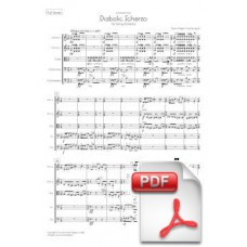 Pagès-Corella: Diabolic Scherzo for String Orchestra (Full Score) [PDF] Preview PDF (Free download)