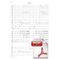 Pagès-Corella: Echoes, Toccata for Piano and Orchestra (Full Score)