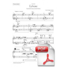 Pagès-Corella: Echoes, Toccata for Piano and Orchestra (Solo Piano Part) [PDF] Preview PDF (Free download)