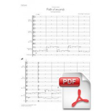 Pagès-Corella: Path of Seconds for String Orchestra (Full Score) [PDF]