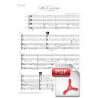 Pagès-Corella: Path Of Seconds for String Quartet (Full Score & Parts)