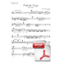 Pagès-Corella: Prelude and Fugue for Cobla (Parts) [PDF]