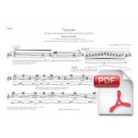 Pagès-Corella: Tangram for Flute, Alto Saxophone, Violin, Violoncello & Piano (Instrumental Parts) [PDF]