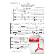 Pagès-Corella: The Donkey Barometer for Violin, Clarinet and Piano (Piano Score & Parts)