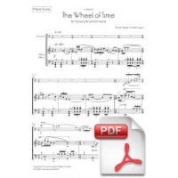Pagès-Corella: The Wheel of Time for Violoncello and Orchestra (Piano Score) [PDF]