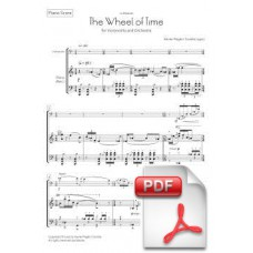Pagès-Corella: The Wheel of Time for Violoncello and Orchestra (Piano Score) [PDF] Preview PDF (Free download)