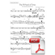 Pagès-Corella: The Wheel of Time for Violoncello and Orchestra (Solo Cello Part) [PDF] Preview PDF (Free download)