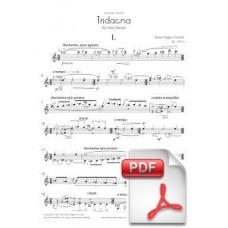Pagès-Corella: Tridacna for Solo Guitar (Full Score) [PDF] Preview PDF (Free download)