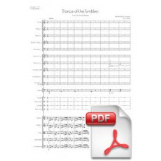 Rimsky-Korsakov: Dance of the Tumblers from the Snow Maiden for Orchestra (Full Score) [PDF] Preview PDF (Free download)