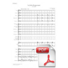 Saint-Saëns: La Jota Aragonese op. 64 for Orchestra (Full Score) [PDF] Preview PDF (Free download)
