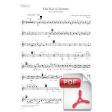Saint-Saëns: Une Nuit a Lisbonne, Op. 63 for Orchestra (Parts) [PDF] Preview PDF (Free download)