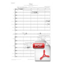 Sanz: Folias for Orchestra (Full Score) [PDF]