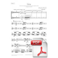 Sanz: Folias for Orchestra (Parts) [PDF]