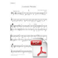 Svendsen: 2 Icelandic Melodies, Op. 30 for String Orchestra (Instrumental Parts)